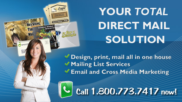 Mailings Unlimited Direct mailer slider